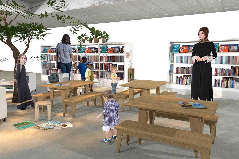 08-a 3D werk pres tafel bank bouwlust